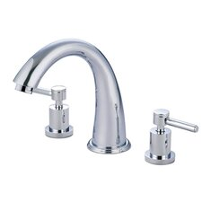 South Beach Double Handle Roman Tub Filler
