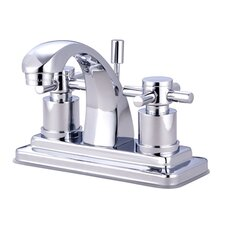 <strong>Elements of Design</strong> South Beach Double Cross Handle Centerset Bathroom Faucet