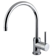 <strong>Elements of Design</strong> South Beach Single Handle Vessel Sink Faucet without Pop-Up and Plate