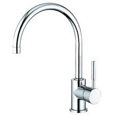 <strong>Elements of Design</strong> South Beach Single Handle Kitchen Faucet with Plate