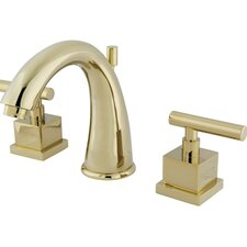 Rio Double Handle Widespread Bathroom Faucet with Pop-up