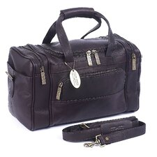 "<strong>Claire Chase</strong> Petite Sport 14"" Leather Carry-On Duffel"