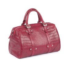 <strong>Claire Chase</strong> Martinque Crocodile Embossed Tote Bag