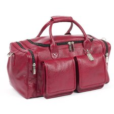 "<strong>Claire Chase</strong> Hampton 20"" Leather Duffel"