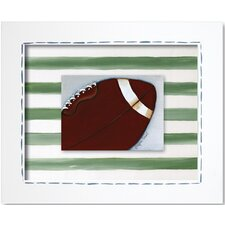 Sports Football Framed Art