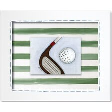 Sports Golf Framed Art