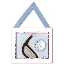 Sports Golf Giclee Framed Art