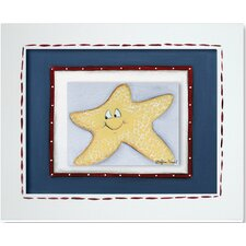 Sea Life Starfish Giclee Framed Art