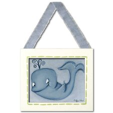 Sea Life Whale Giclee Framed Art