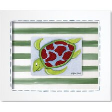 Sea Life Sea Turtle Framed Art