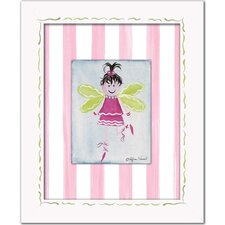 Fairies Fairy Framed Giclee - Brunette Wall Art