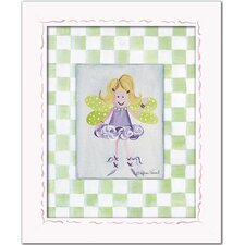 Fairies Blonde Fairy Giclee Framed Art
