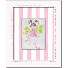 Fairies Fairy Framed Giclee - Light Brown Wall Art