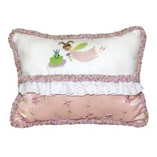 <strong>Doodlefish</strong> Princess Embroidered Throw Pillow