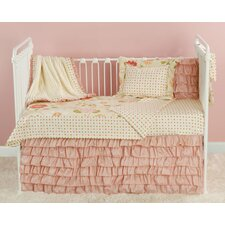 Rose Garden Toddler Coverlet and Pillow