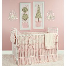 Toile Crib Bedding Collection
