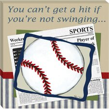 Baseball in the News Giclee
