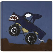 Transportation Monster Truck Giclee Canvas Art