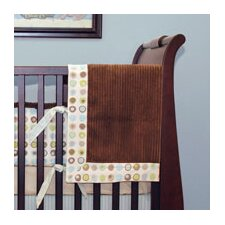 Bubbles Crib Blanket