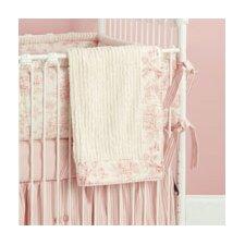 Toile Crib Blanket