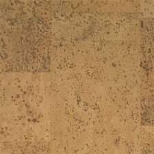 "Floor Tiles 12"" Solid Cork Flooring in Pyramid"
