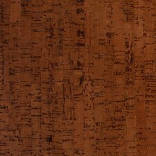 "Colors 12"" Engineered Cork Flooring in Titan Brown"