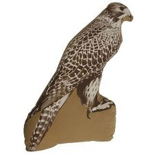 Large Organic Cotton Falcon Cushion