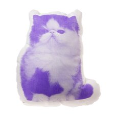 Mini Persian Cat Throw Pillow