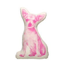 Organic Cotton Chihuahua Pillow