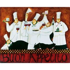 "12"" x 15"" Buon Appetito Design Cutting Board"