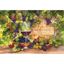 "7.5"" x 11""  Bordeaux Design Cutting Board"
