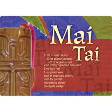 "5"" x 7"" Mai Tai Design Cutting Board"