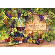 "5"" x 7"" Bordeaux Design Cutting Board"