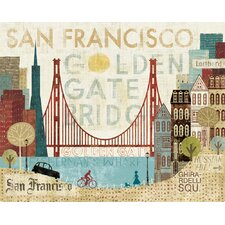 Hey San Francisco Cutting Board