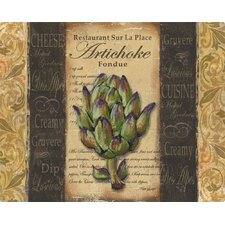 French Artichoke Cutting Board