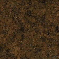 "11-7/8"" Cork Tile Flooring in Burnt Coffee Grounds"