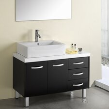 "Tilda 39.4"" Single Bathroom Vanity Set"