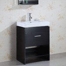 "Gloria 23.6"" Single Bathroom Vanity Set"
