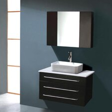 "<strong>Virtu</strong> Ivy 31.5"" Single Bathroom Vanity Set"