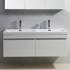<strong>Virtu</strong> Zuri 54.7 Double Bathroom Vanity Set
