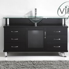 "Vincente 55"" Bathroom Vanity Set"