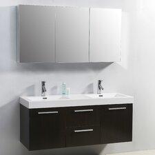 "Midori 54"" Double Bathroom Vanity Set"