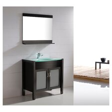 "Vina 35.4"" Single Bathroom Vanity Set"