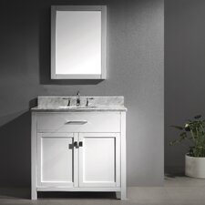 "Caroline 36"" Bathroom Vanity Set with Single Sink"