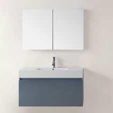 "Zuri 39"" Single Bathroom Vanity Set with Mirror"