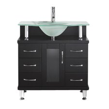 "Vincente 32"" Bathroom Vanity Set with Single Sink"