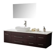 "Justine 60"" Bathroom Vanity Set with Single Sink"