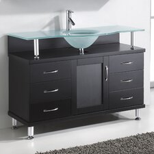 "Vincente 48"" Single Bathroom Vanity Set"