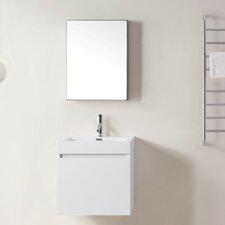 "Zuri 24"" Single Bathroom Vanity Set with Mirror"