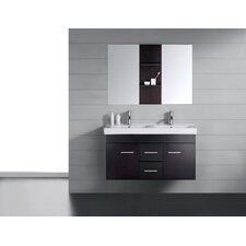 "Opal 47.2"" Double Bathroom Vanity Set"
